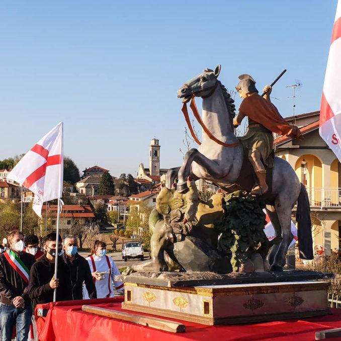 Ieri, 23 aprile, Niella Belbo ha onorato il suo patrono San Giorgio 2
