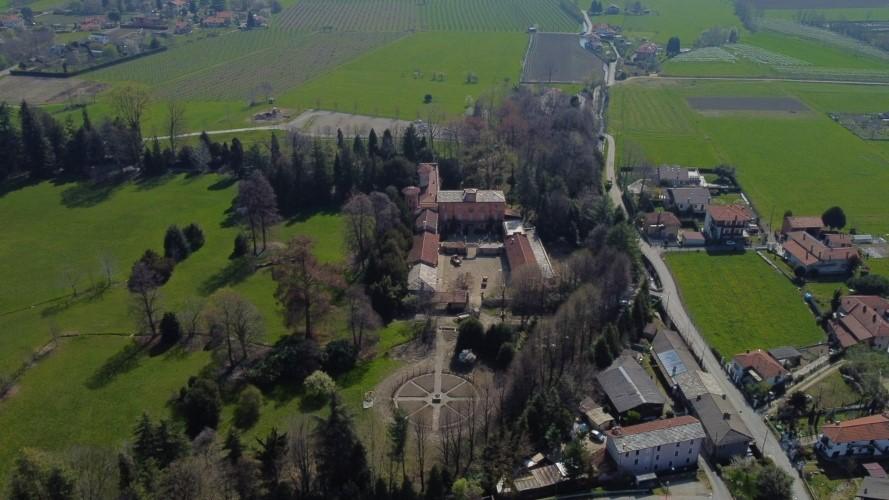 Orto del Castello_con drone_Archivio Fondazione Cosso (2)