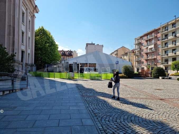 In piazza San Paolo il Pala Alba capitale prende forma 1