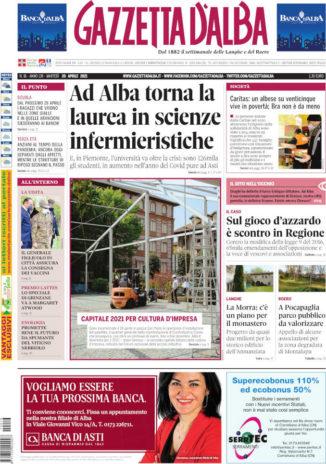 Le notizie di Gazzetta d'Alba su Radio Vallebelbo, ascolta il podcast del 19 aprile