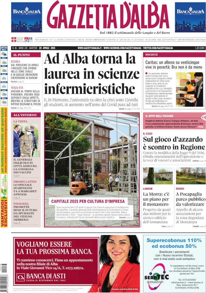 Le notizie di Gazzetta d'Alba