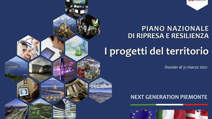 """Il """"Recovery plan"""" del Piemonte varato dalla Giunta regionale: oltre 1200 progetti per 27 miliardi di euro"""