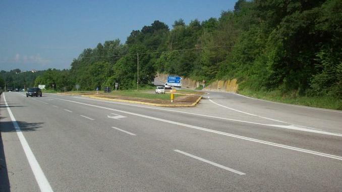 Nuova rotonda a Clavesana