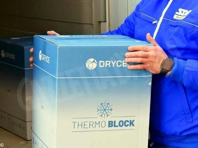 A Verduno Poste italiane ha consegnato 1.500 dosi di vaccino Moderna