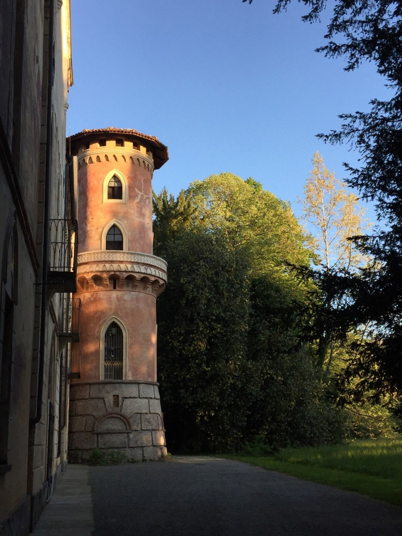Torre del parco restaurata.