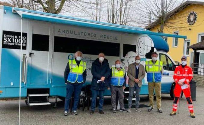 Alta Langa: vaccini on the road con la Fondazione Nuovo ospedale 1
