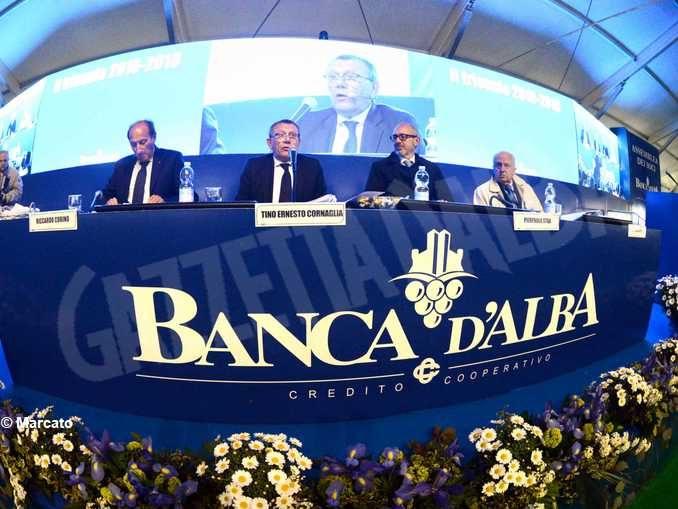 Banca d'Alba: volumi a quota 10,5 miliardi