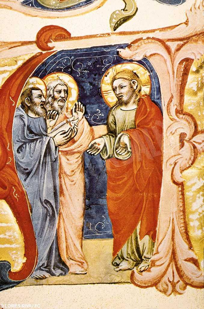 gesu appare apostoli