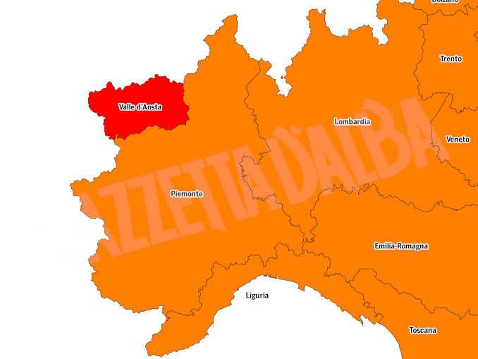 Pronta l'ordinanza con i nuovi colori: il Piemonte sarà arancione da lunedì 12