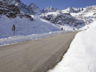 Maltempo in Piemonte: neve da 1.100 metri nel Cuneese, nuvole fino a martedì
