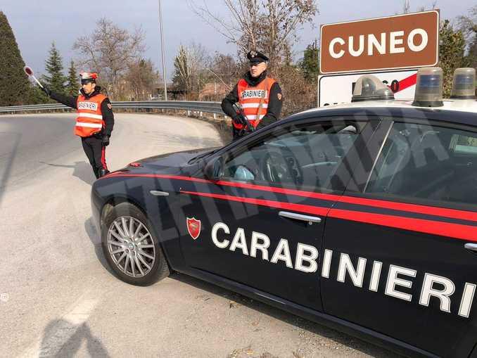 pattuglia operante Cuneo