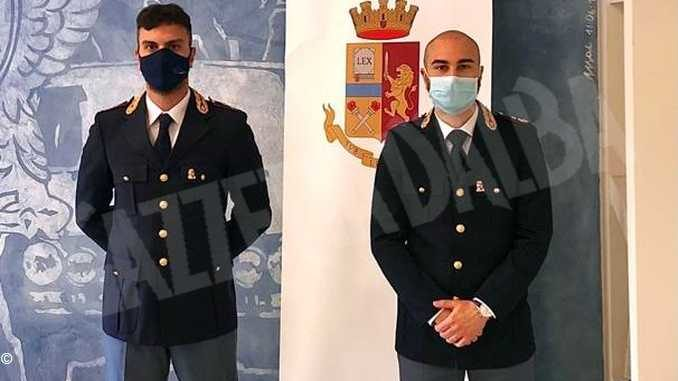 Nominati i nuovi comandanti della Squadra mobile e delle Volanti di Asti