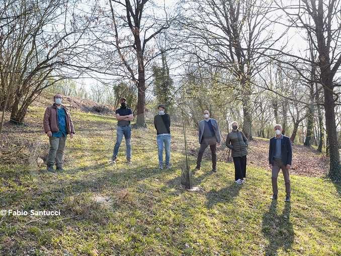 Un nuovo bosco di piante tartufigene al parco di San Cassiano 2
