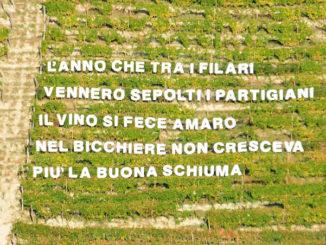 A Castiglione Tinella il ricordo della Resistenza è tra i filari