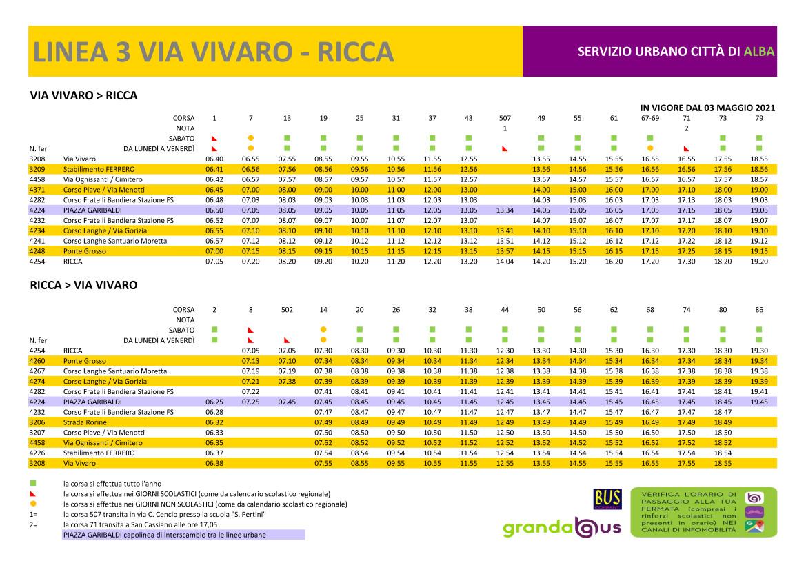 Dal 19 maggio nuovi servizi di trasporto per i Cimiteri di Alba e Mussotto