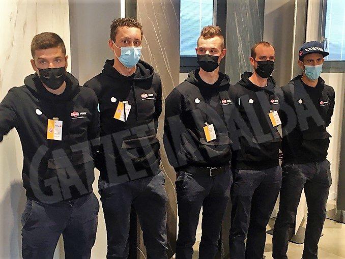 Team Alpecin-Fenix pronto per il Giro d'Italia