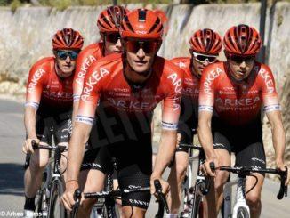 Rosa trentesimo al Giro dell'Algarve: oggi arrivo in salita