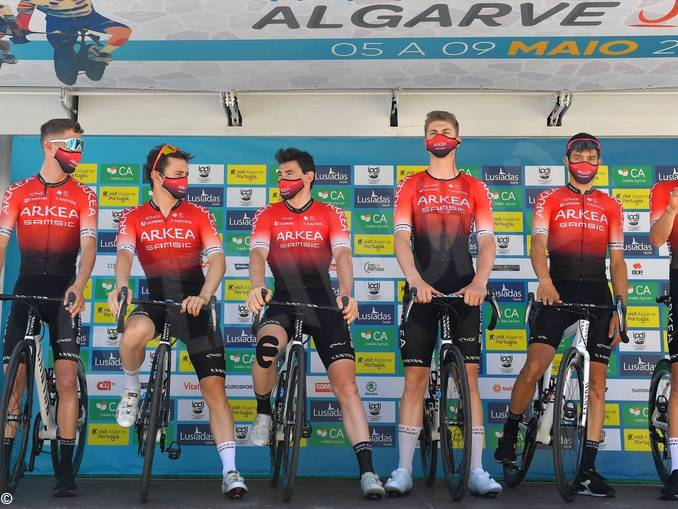 Arkea Algarve alla partenza