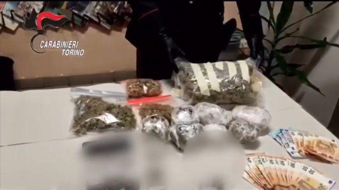 Nichelino: 30enne pregiudicato arrestato con 1,5 kg di droga