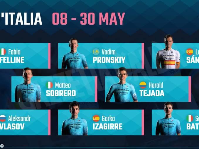 Astana Giro 2021