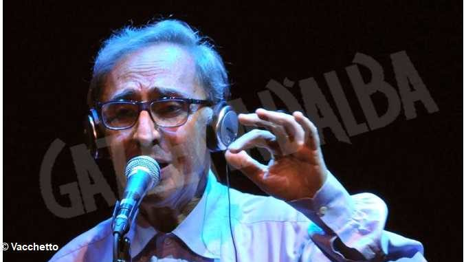 Franco Battiato, pittore del Palio degli asini del 2010 1