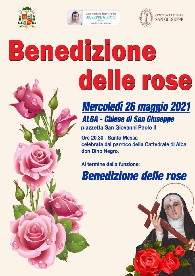 Benedizione delle rose nella chiesa di San Giuseppe