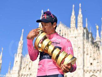 Bernal ha vinto il Giro d'Italia. Un grande Sobrero ha sfiorato il podio nella cronometro conclusiva