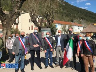 Il presidente della Provincia Borgna a Tenda per la riapertura della ferrovia 1