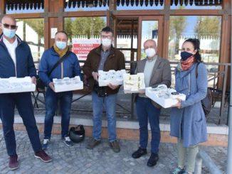 40 robiole di Roccaverano per il centro vaccinale di Acqui Terme