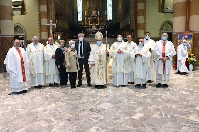 Il Vescovo apre l'Anno della famiglia e accoglie un aspirante al diaconato