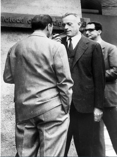 Einaudi e Calvino inaugurazione