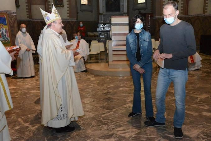 Il Vescovo apre l'Anno della famiglia e accoglie un aspirante al diaconato 4
