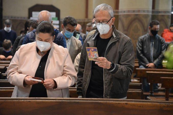 Il Vescovo apre l'Anno della famiglia e accoglie un aspirante al diaconato 6