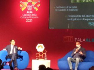 Federico Francesco Ferrero il primo ospitedi Alba capitale della cultura d'impresa 2021