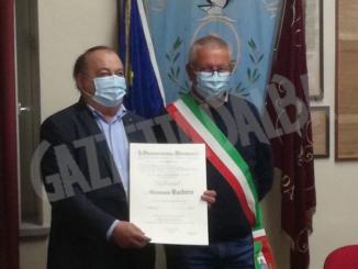 Il cavaliere Giovanni Barbero è diventato Ufficiale della Repubblica 1