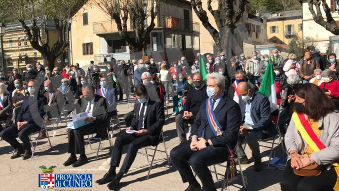 Il presidente della Provincia Borgna a Tenda per la riapertura della ferrovia 2