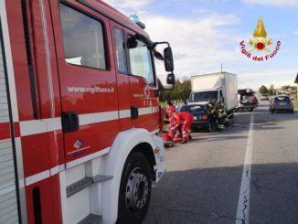 Incidenti a Guarene e sulla tangenziale di Bra