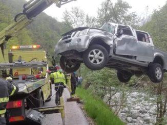 Incidente stradale a Montaldo Mondovì