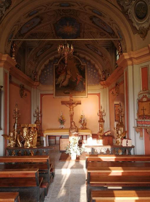 La cappella della Santissima Annunziata in località Terlapini