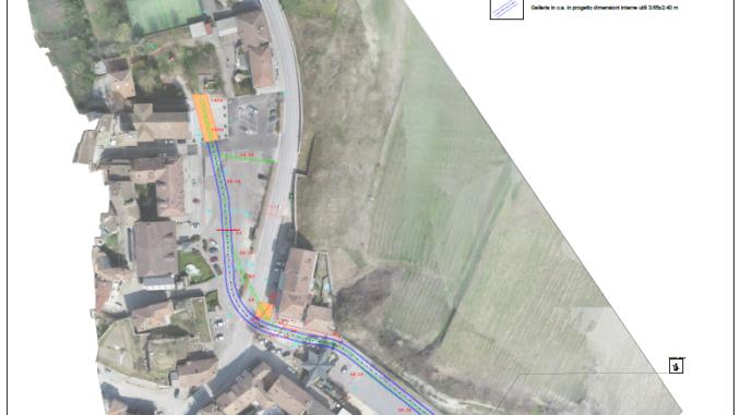 Il centro abitato sarà messo in sicurezza grazie al nuovo tunnel sotterraneo per il rio Santa Maria