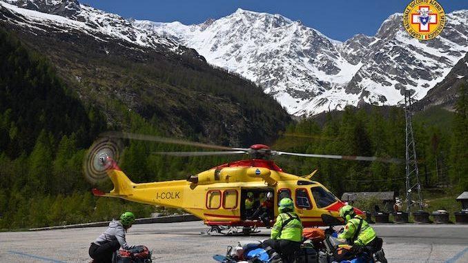 Un alpinista è precipitato ed è morto sul Monte Rosa