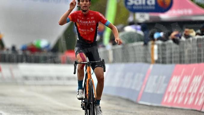 Vittoria svizzera al Giro d'Italia. L'ungherese Valter nuova maglia rosa