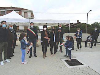 Ceresole d'Alba: inaugurato il nuovo marciapiede di via Carmagnola