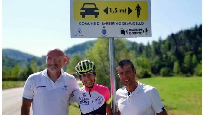 Riparte la campagna di Paola Gianotti per la sicurezza dei ciclisti sulle strade