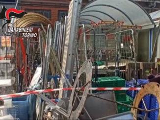 I Carabinieri scoprono un'area adibita ad illecito stoccaggio di rifiuti 1