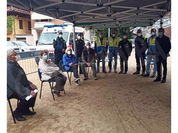 Giornata di vaccinazioni a Monforte grazie all'ambulatorio mobile dell'Asl 1