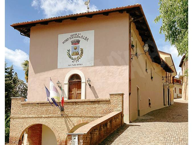 Monticello palazzo comunale
