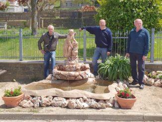 Niella Belbo ha una nuova fontana creata da tre volontari
