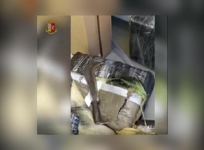 Operazione della polizia nel Torinese – squestro 350 chili di hashish
