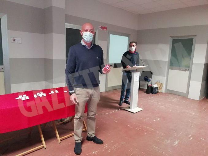 Paolo Abbona premiato 100 donazioni
